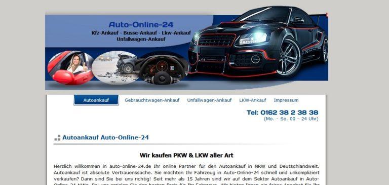 Autoankauf Bocholt  Gebrauchtwagen Unfallwagen