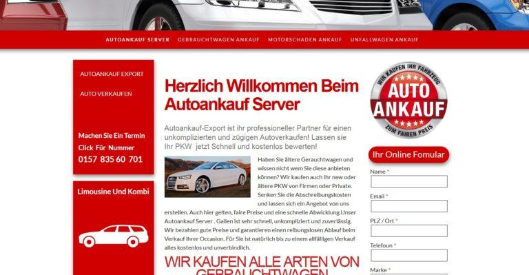Gebrauchtwagen Ankauf Deutschlandweit