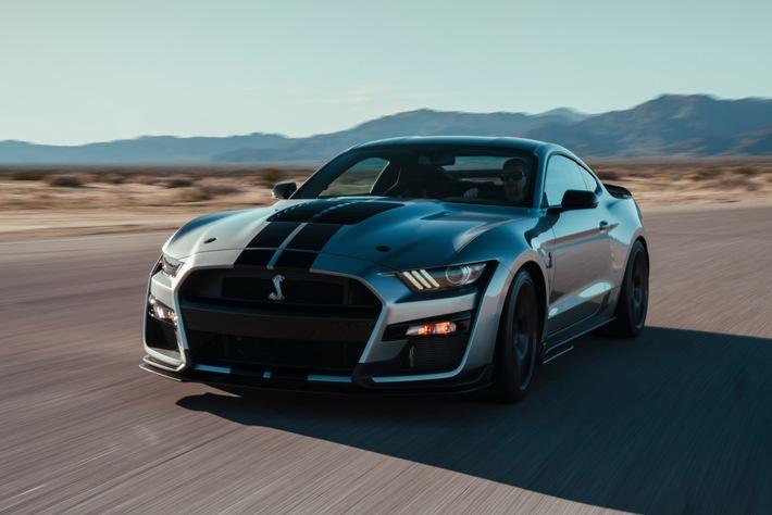 Der neue Mustang Shelby GT500: Kein Serienmodell von Ford war jemals stärker