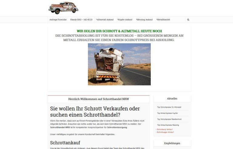 Schrotthandel Duisburg kümmert sich um ihre Schätze