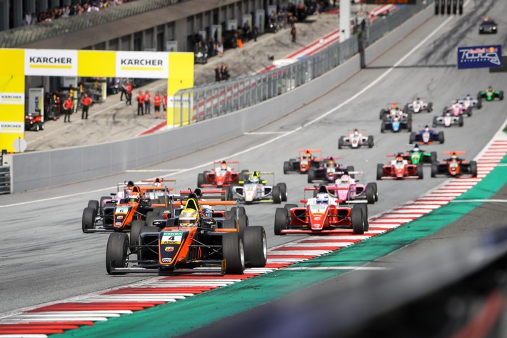Highlight des Jahres: Die ADAC Formel 4 zu Gast bei der Formel 1