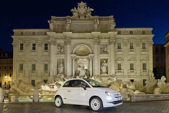 Sondermodell Fiat 500 Dolcevita feiert 62. Geburtstag des ikonischen Cinquecento