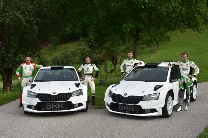 Die beiden deutschen Top-Rallye-Piloten starten beim WM-Heimspiel für SKODA AUTO Deutschland