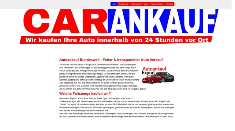 Mit Autoankauf Rendsburg zum Top Preis verkaufen