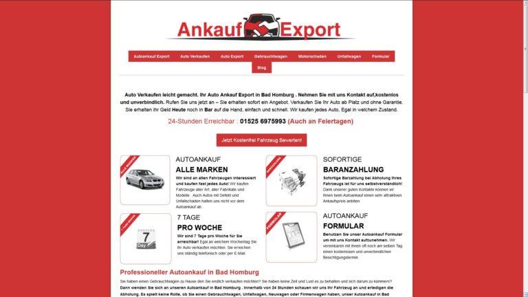 Autoankauf Bad Homburg – Ihr kompetenter Partner in Sachen Autoverkauf