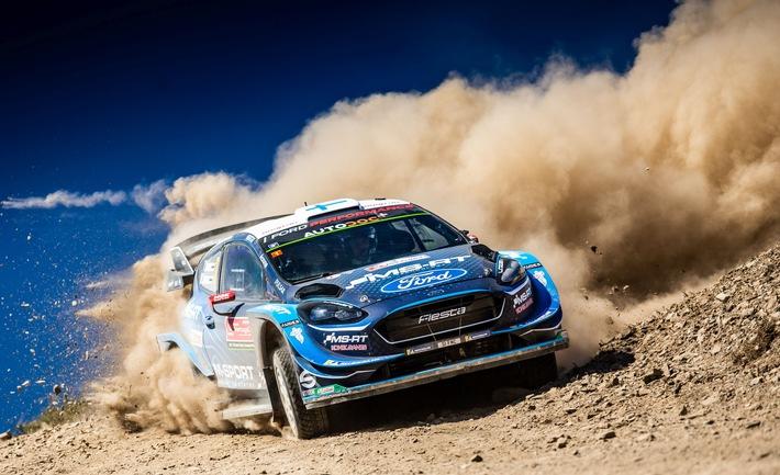 Eine Rallye mit zwei Gesichtern: Ford setzt sich für spanischen WM-Lauf ehrgeizige Ziele
