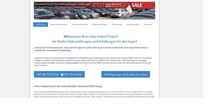 Professioneller und sicherer Auto verkauf mit Autoankauf Menden