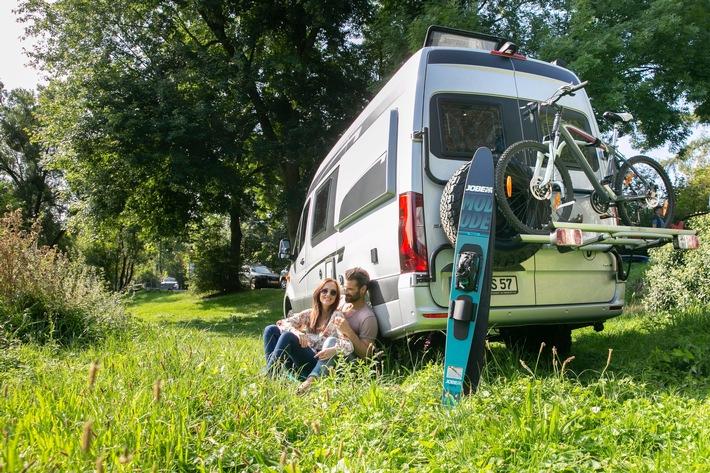 Caravaning in Europa weiter voll im Trend: Neuzulassungen von Reisemobilen und Caravans steigen