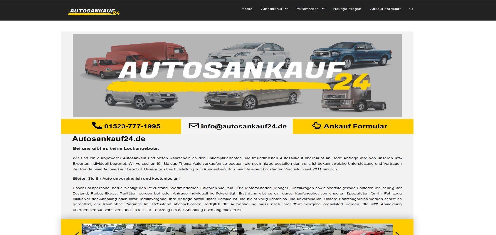 autosankauf24.de Autoankauf Heidelberg