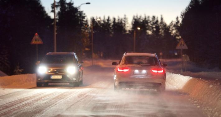 Stressfaktor Autofahren im Winter
