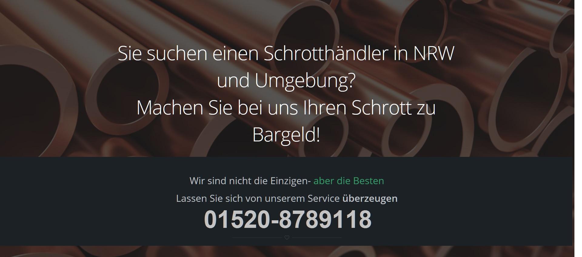 Schrotthändler Duisburg: Schrottabholung Kostenlos für Duisburg und gesamte Umgebung