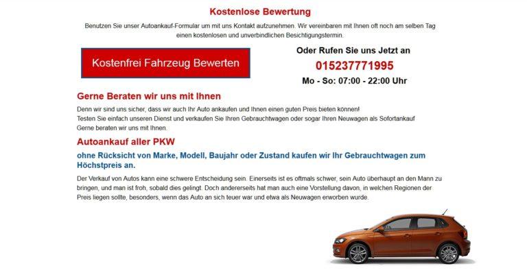 Autoankauf Leipzig :: Sofort Auto Verkaufen – wir bieten Ihnen mehr für Ihr Auto