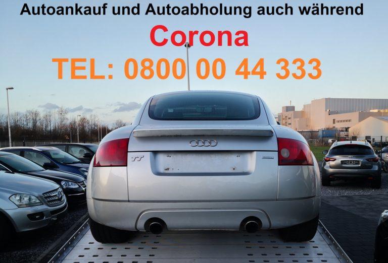Auto verkaufen trotz Corona Virus (COVID-19)