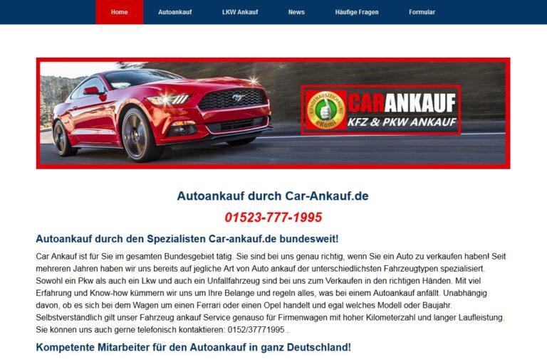 Autoankauf Castrop Rauxel kauft jeden Gebrauchtwagen an!