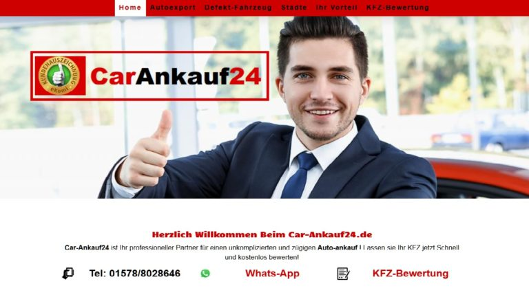 Autoankauf Herne >Gebrauchtwagen Pkw Kfz Ankauf< car-ankauf24.de