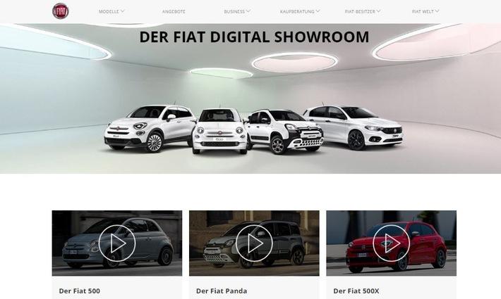 Digitale Showrooms im Internet statt Besuch im Autohaus
