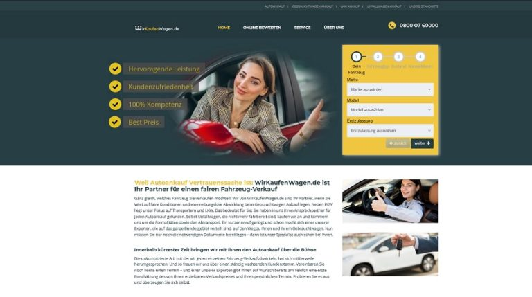 Autohändler Kamen : 59174 Kamen wirkaufenwagen.de