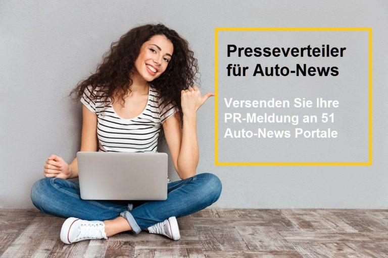 Presseverteiler für Auto NEWS