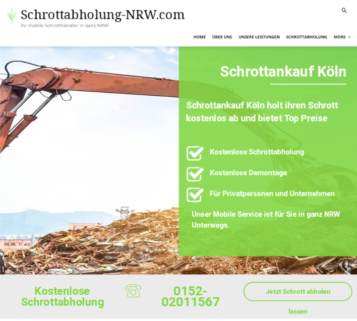 Schrottankauf Köln: Schrott verkaufen – so komfortabel wie noch nie
