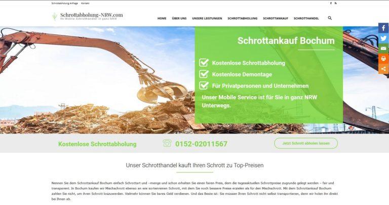 Schrotthändler Bielefeld  >Unser Schrotthandel kauft Ihren Schrott zu Top-Preisen