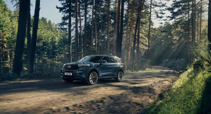 Explorer Plug-in-Hybrid: Ford startet mit der Auslieferung des SUV-Top-Modells in Europa