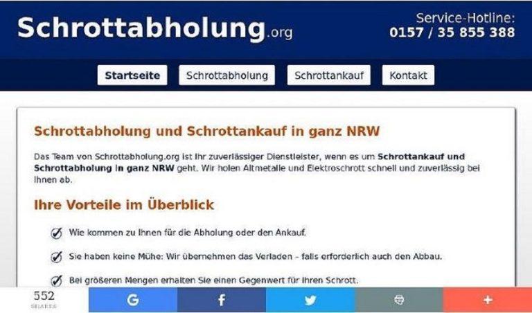 Schrottankauf In Hagen – Machen Sie Ihren Schrott Zu Geld