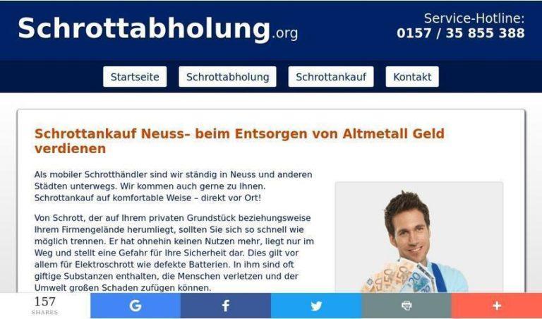 Recycling von Altmetall – SchrottankaufNeuss