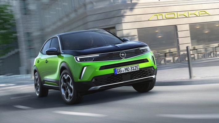 Spannung pur: Neuer Opel Mokka elektrisch und voller Energie