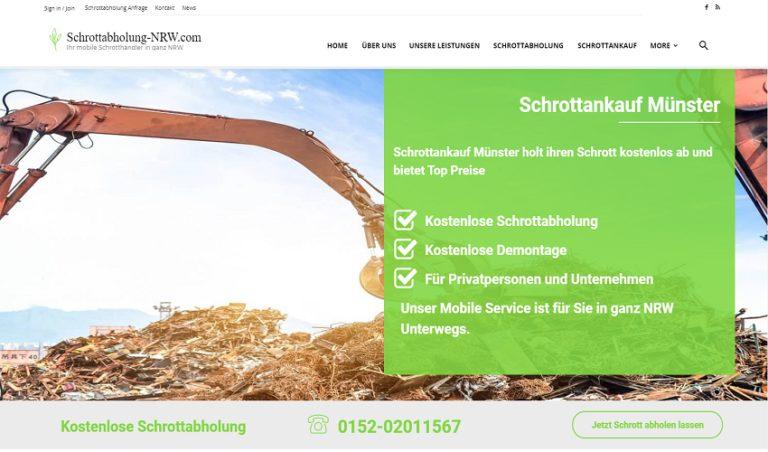 Unkomplizierte Schrottabholung und fairer Schrottankauf in Münster