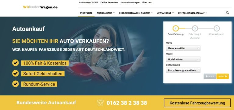 Wir kaufen dein Wagen zum guten Preis in Dortmund Eving