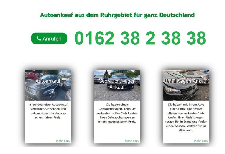 Autoankauf Hannover: Auto Ankauf von Gebrauchtwagen