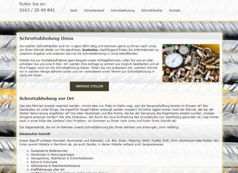 Schrottabholung Unna – Altmetall Recyceln Und Geld Verdienen