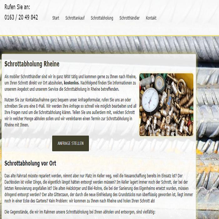 Führen Sie Ihren Metallschrott dem Schrott-Recycling zu – Schrottabholung in Rheine