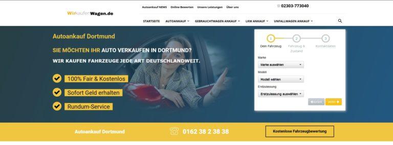 Autoankauf Dortmund- WIR KAUFEN FAHRZEUGE JEDE ART DEUTSCHLANDWEIT