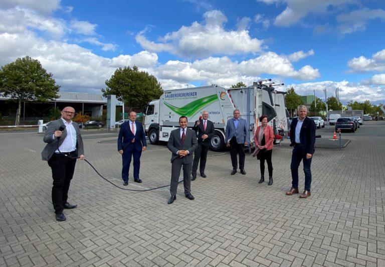 Elektrisches Abfallsammelfahrzeug für Duisburg