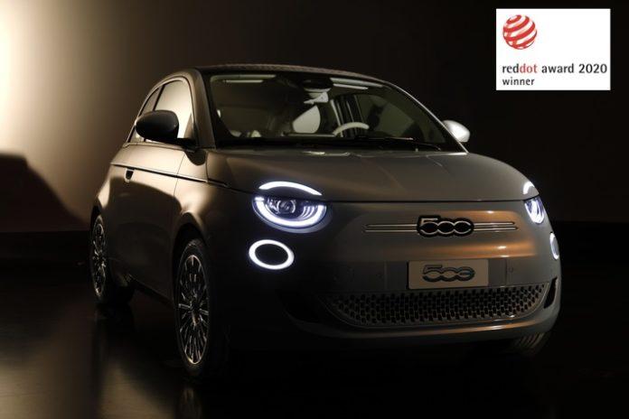 image 1 31 696x464 - Neuer Fiat 500 mit Designpreis 'Red Dot Award' ausgezeichnet