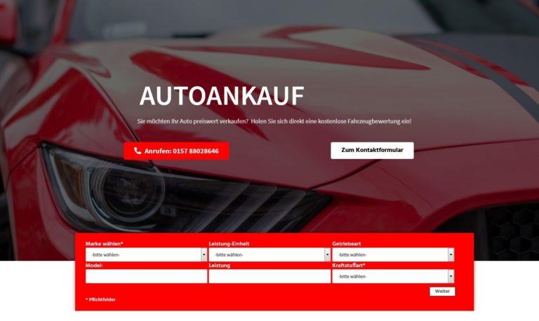 Autoankauf Bochum und Umgebung? Möchten Sie Ihr Auto in Bochum und Region verkaufen?