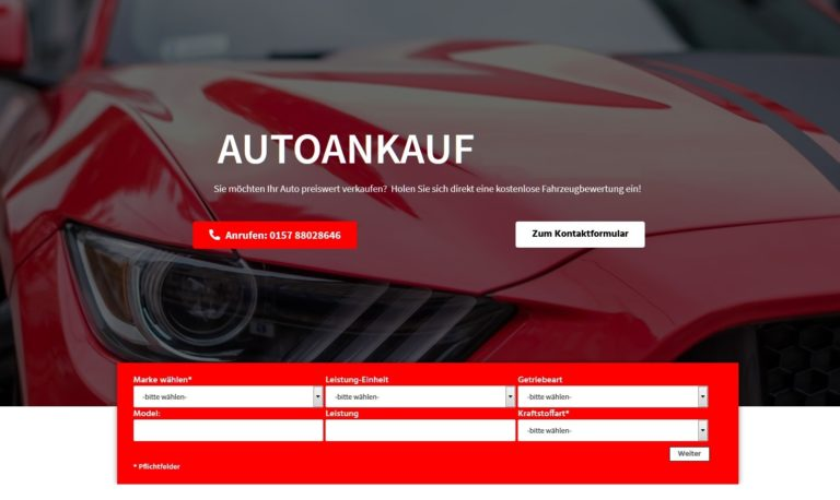 Autoankauf Giessen:  Gebrauchtwagenankauf Giessen! Ankauf jeglicher KFZ-Modelle
