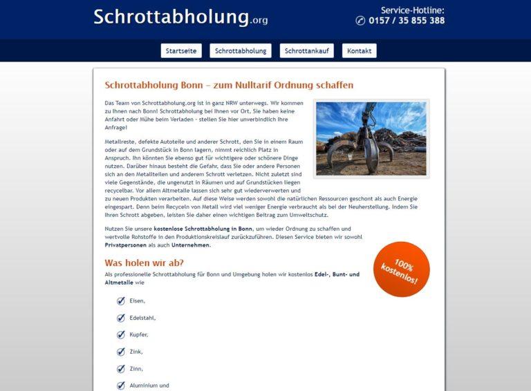 Die Schrottabholung Bonn arbeitet hochprofessionell, um Ressourcen dem Rohstoff-Kreislauf verlustfrei wieder zuzuführen