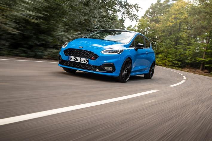 Ford Fiesta ST Edition mit einstellbarem Fahrwerk und besonderer Optik: Perfekt für Performance-Enthusiasten