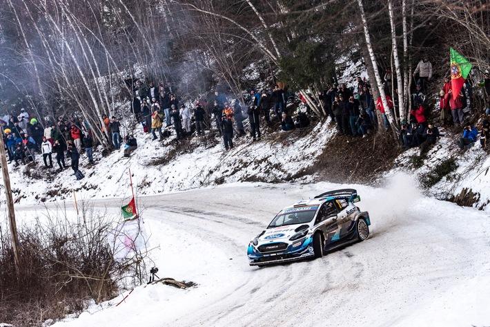 M-Sport Ford startet bei der Rallye Monte Carlo mit drei allradgetriebenen Fiesta in die neue WM-Saison