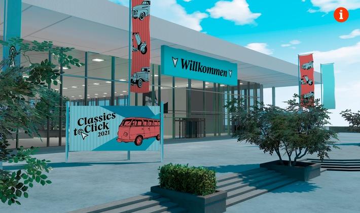 """Deutschlands größte Onlinemesse für Oldtimer, Youngtimer & Co. – 2. Classics to Click startet im März TV-Stars Detlev """"Det"""" Müller und Helge Thomsen sind dabei"""