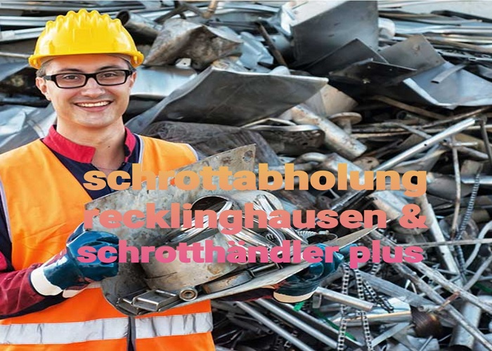 Die kostenlose Schrottabholung Recklinghausen & der Hausauflösungen entrümpelt werden soll oder ein ganzes Unternehmen aufgelöst wird