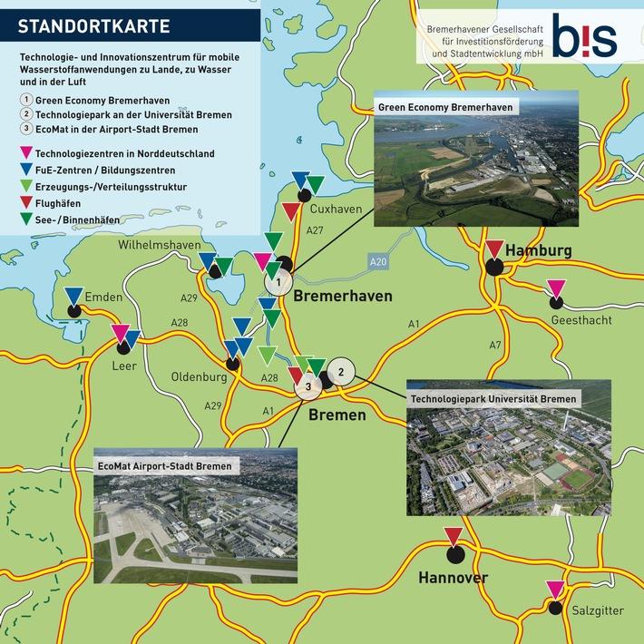 Wasserstoff-Mobilität der Zukunft: Land Bremen beim Standortwettbewerb des Bundes am Start