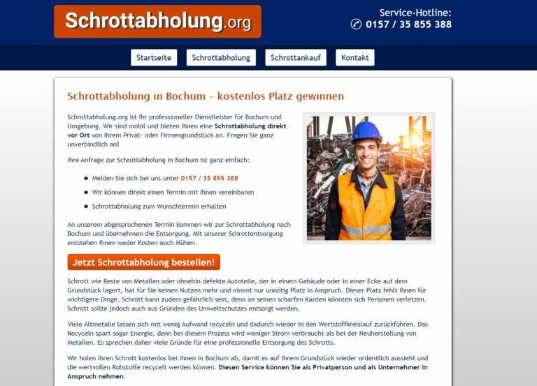 Wer in seinem Elektro-Schrott zu ersticken droht, sollte mit der Schrottabholung Bochum Kontakt aufnehmen