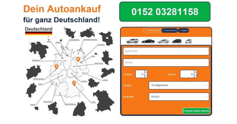 Gebrauchtwagen jeder Marke und aller Modelle: Der Autoankauf Erfurt gibt für jedes Auto ein attraktives Angebot ab