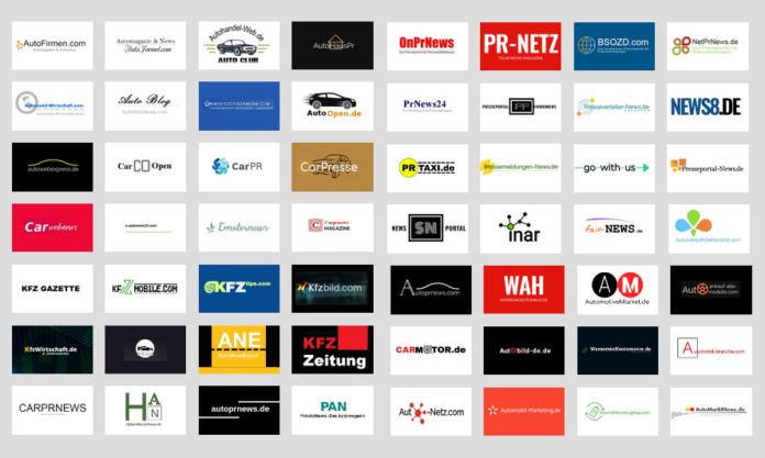 Presseverteiler für das Automobil Marketing