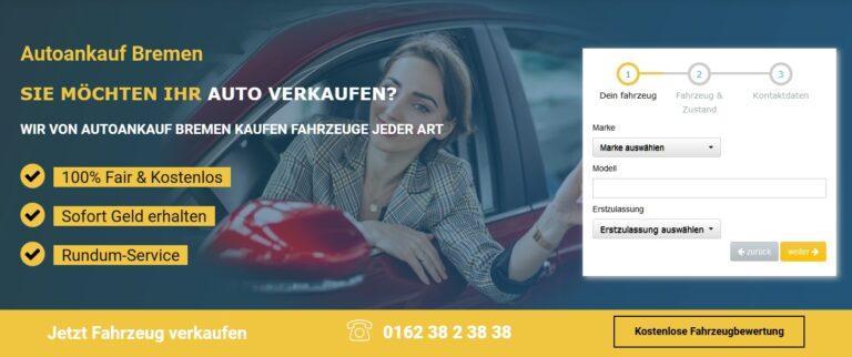 Autoankauf Bremen: Autoankauf Bielefeld überzeugt mit einer fairen Bewertung Ihres Gebrauchtwagens und einem unkomplizierten PKW Ankauf