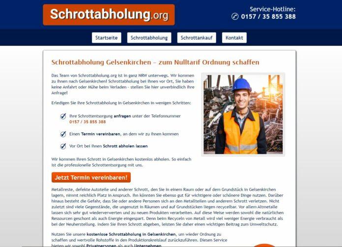 image 1 133 696x503 - Schrottabholung in Gelsenkirchen: Wir holen selbst ab, Sie brauchen uns nur zu rufen