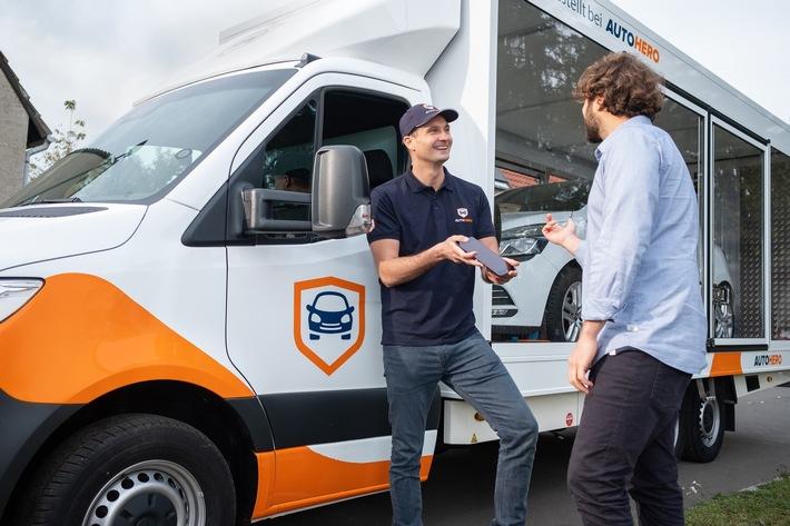 Online-Autokauf mit Autohero: Jetzt dank digitaler Inzahlungnahme noch attraktiver